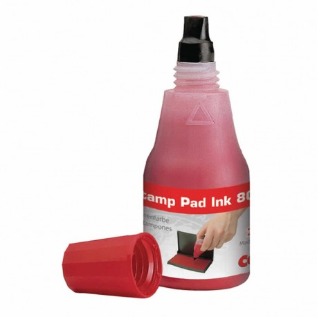 Colop 801 Red Ink Bottle - 25ml