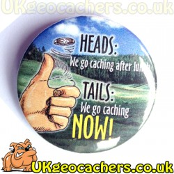 Heads or Tails 44mm Fridge Magnet
