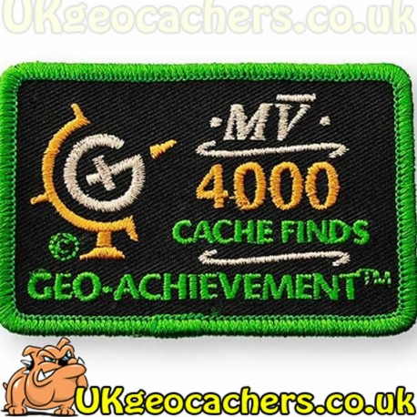 4000 Finds Achievement Patch