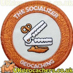 7 Souvenirs Patch- The Socializer