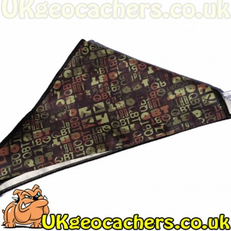 "Geocaching Dog ""Cool Canuck"" Bandana"