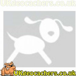 Dog Geocaching Decal