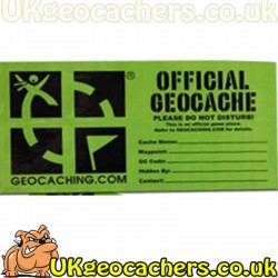 Official Small Cache Sticker