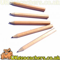 5 Pack of Golf Pencils