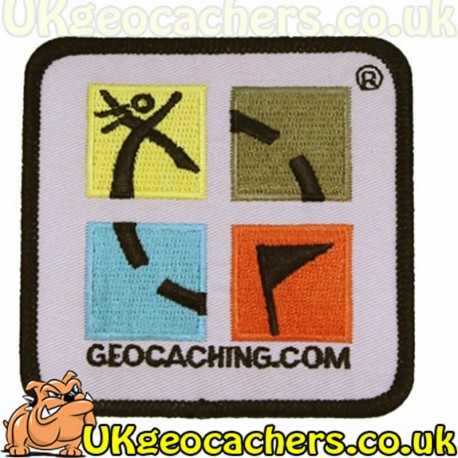 Geocaching Patch (Retro Edition)