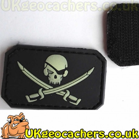 Pirate Glow in the Dark Patch