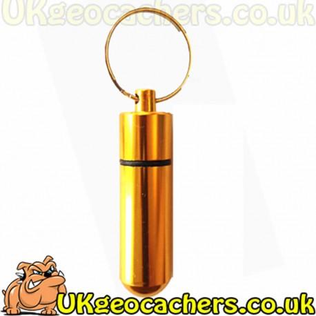 Aluminium Micro Cache - Gold