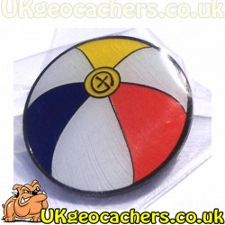 Beach Ball Geopin