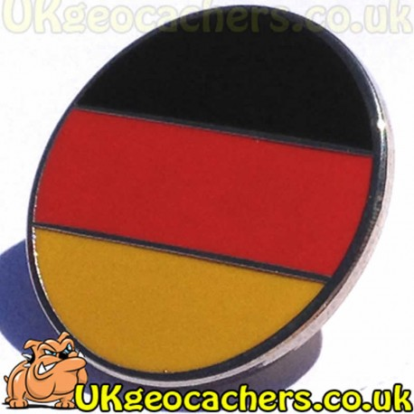 Round Germany Pin