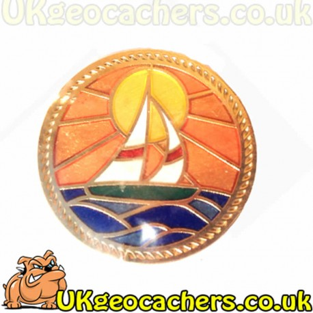 Sailboat Satin Gold