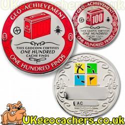 100 Finds Geo-Achievement Coin Set