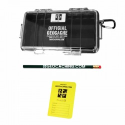 Official Large PELICAN Geocache with Logbook and Pencil