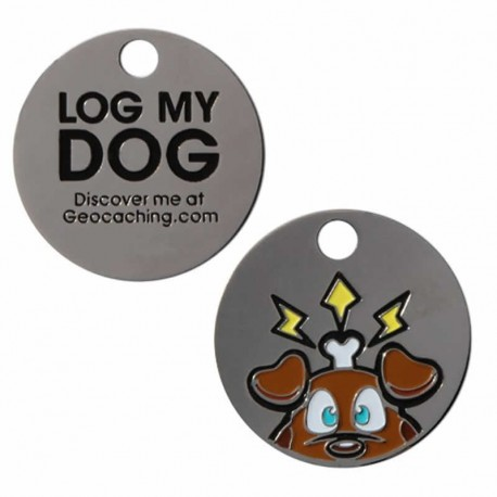 Log My Dog Trackable Tag