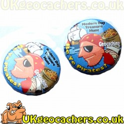 Be Ye Pirates? 44mm Button Badge