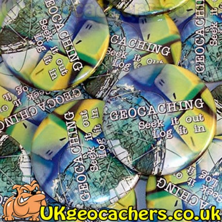 Geocachers Seek It Out 44mm Button Badge
