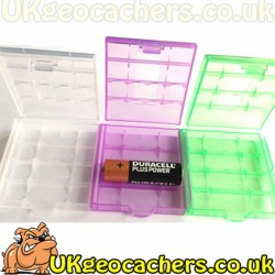 3 Pack Battery Case Set