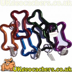 Large Bison Dog Bone Carabiner