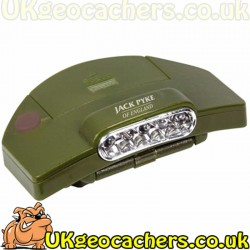 Jack Pyke 5 LED Clip on Cap Light / Torch