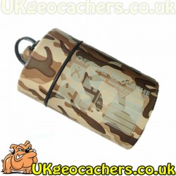 Mighty Mega Cache Container - Brown Camouflage