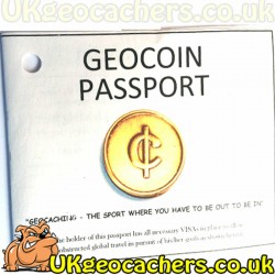 R.I.T.R. Geocoin Passport