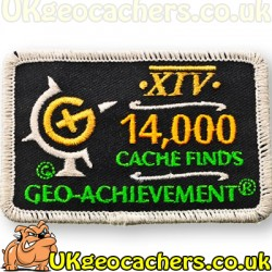 14,000 Finds Achievement Patch