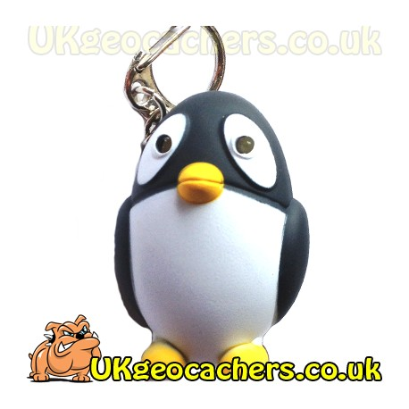 Penguin LED Torch with Sound