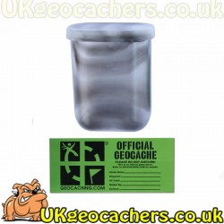 Mini Decon Cache Container - Clear