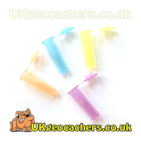2ml Coloured Vial Cache