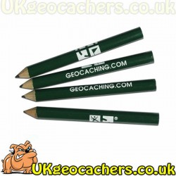 Small Geocaching Pencils - 4 Pack