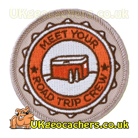 Geocaching Road Trip '15 Patch: Meet Your Road Trip Crew