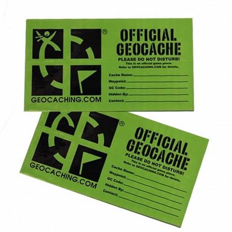 Large Groundspeak Cache Sticker