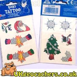 Christmas Tattoos 9pk