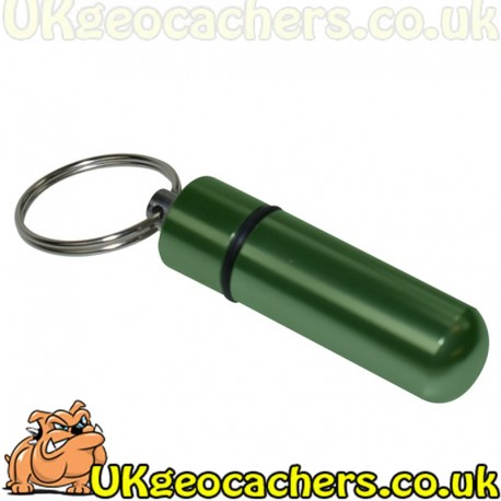 Micro Cache Keyring - Green