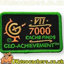 7000 Finds Achievement Patch