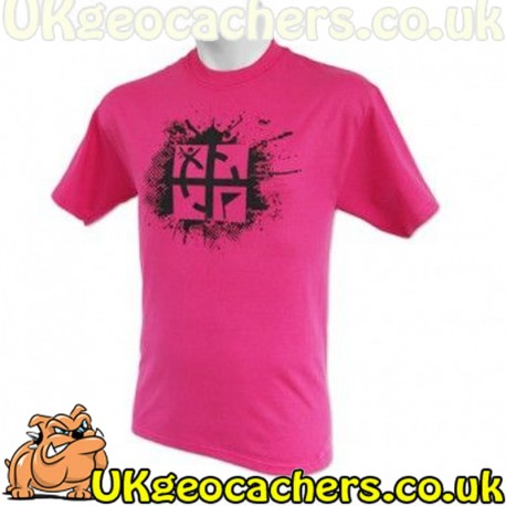Small Cache Attack T-Shirt - Pink