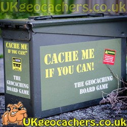 Cache Me If You Can Collector's Edition Geocaching Game by DPH Games Inc