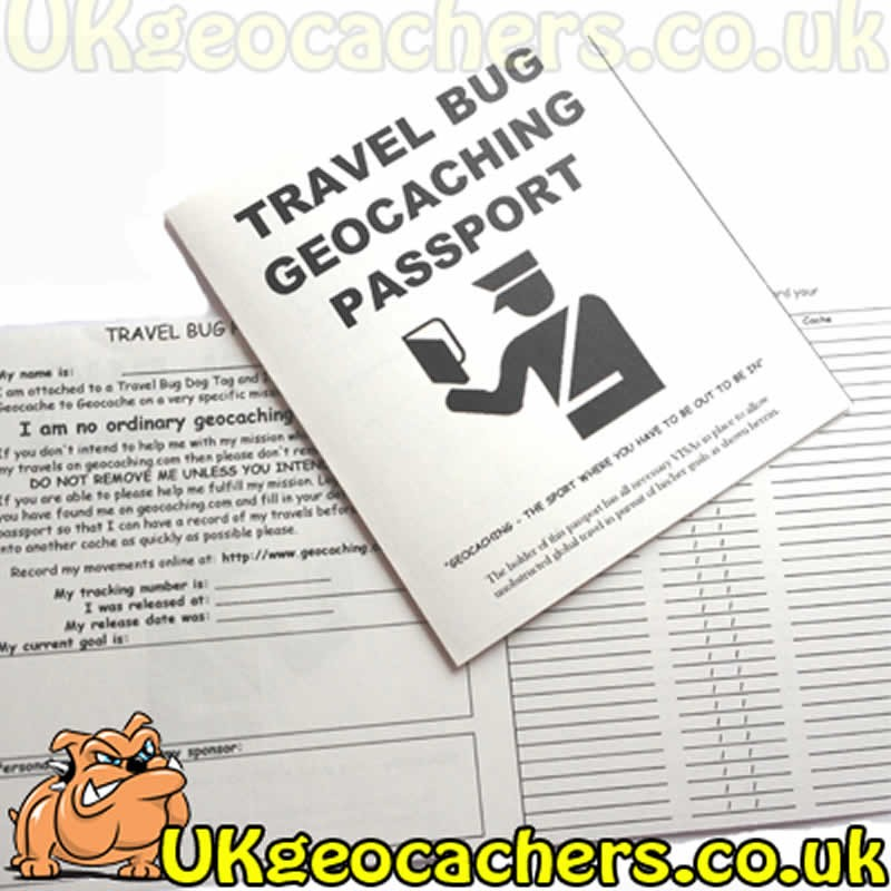 R I T R  Travel Bug Passport for Travel Bugs
