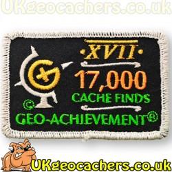 17,000 Finds Achievement Patch
