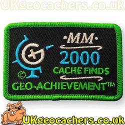 2000 Finds Achievement Patch