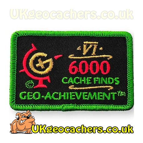 6000 Finds Achievement Patch
