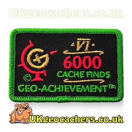 6000 Finds Achievement Patch