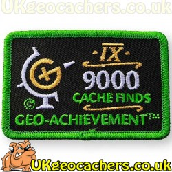 9000 Finds Achievement Patch