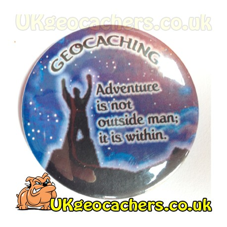 Geocaching Adventure Fridge Magnet