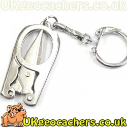 Folding Scissor Keyrings