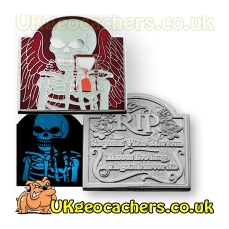 RIP Life Follows Death Geocoin