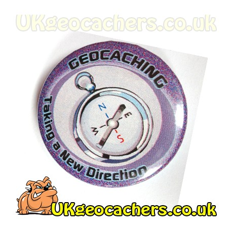 Taking A New Direction 44mm Button Badge