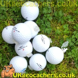 Golf Ball Nano Geocache