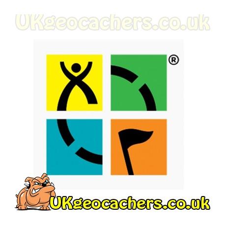 Geocaching.com Full Colour Sticker 3 x 3