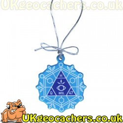 Trackable Snowflake Ornament - Mission GC