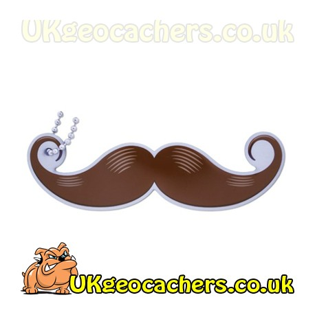 Take a Stachie - Handlebar Brown